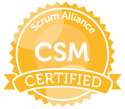 Scrum Alliance Certified ScrumMaster - agile project management and software development framework