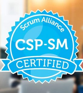 Certified Scrum Professional ScrumMaster, (CSP-SM) Virtual-Online 16th-19th November 2020